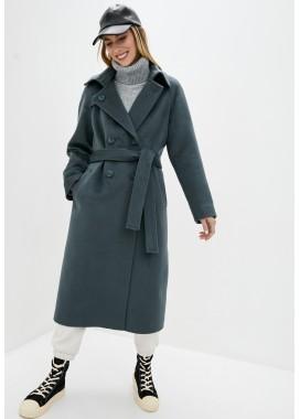 Пальто демисезонное зеленое DANNA 1753