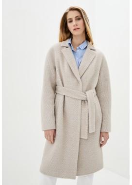 Пальто демисезонное коричневое DANNA 1775
