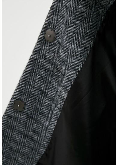 Пальто зимнее серое DANNA 1375