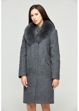Пальто зимнее графитовое DANNA 1303