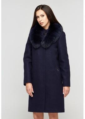 Пальто зимнее синее  DANNA 1303