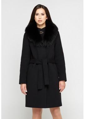Пальто зимнее черное DANNA 1303