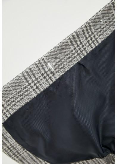 Пальто демисезонное серое DANNA 1711G