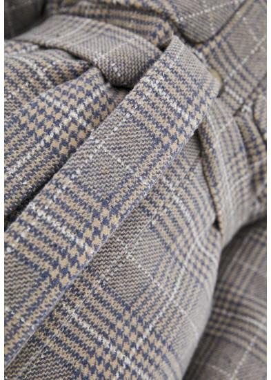 Пальто демисезонное синее DANNA 1711V