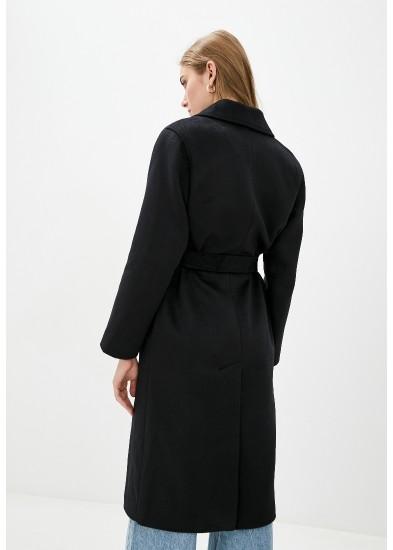 Пальто демисезонное черное DANNA 1717CH