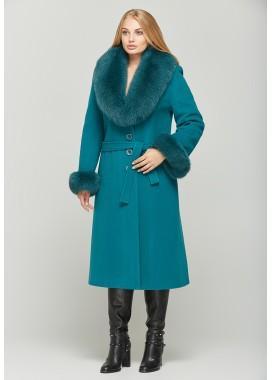 Пальто зимнее зеленое DANNA 195