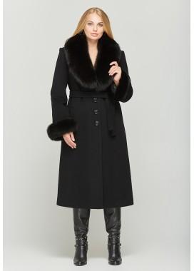 Пальто зимнее черное DANNA 195