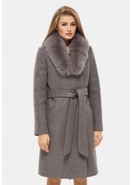 Пальто зимнее коричневое DANNA 1311