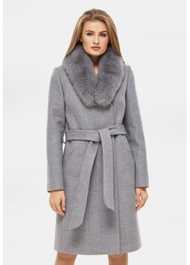 Пальто зимнее серое DANNA 1311