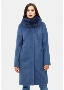 Пальто зимнее синее DANNA 1307