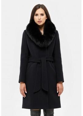Пальто зимнее черное DANNA 1311