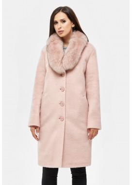 Пальто зимнее розовое  DANNA 1317