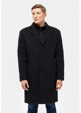 Пальто мужское зимнее черное   DANNA  3007