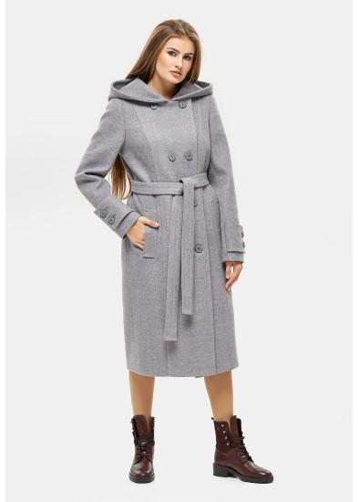Пальто демисезонное DANNA серое 1103