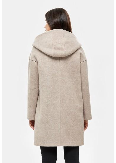Пальто демисезонное бежевое DANNA