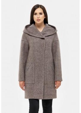 Пальто демисезонное коричневое DANNA 1105188