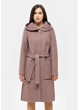 Пальто демисезонное сиреневое DANNA 1115-188