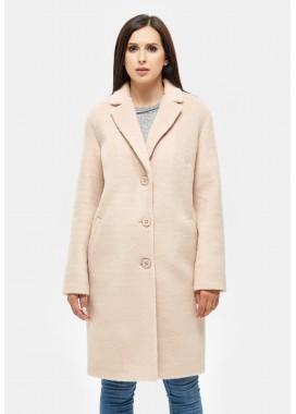 Пальто демисезонное бежевое DANNA 1117