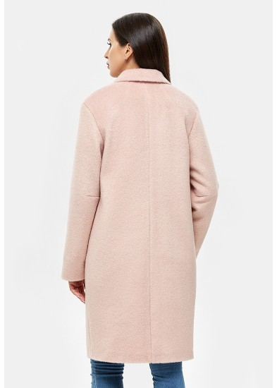 Пальто демисезонное розовое DANNA 1117
