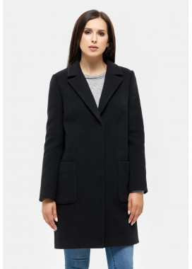 Пальто демисезонное черное DANNA 593-188