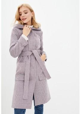 Пальто демисезонное фиолетовое DANNA 11431