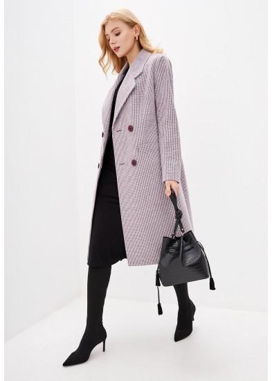 Пальто демисезонное фиолетовое DANNA 1175