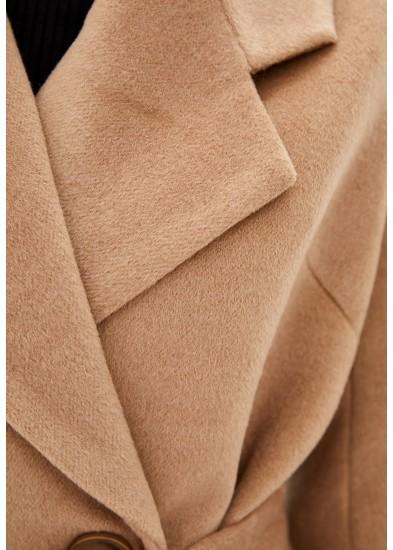 Пальто демисезонное рыжее DANNA 11751