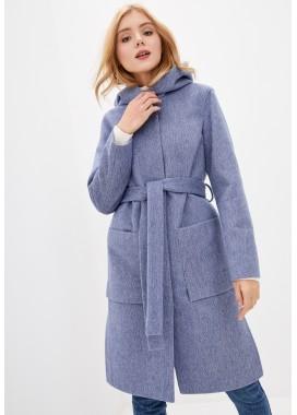 Пальто демисезонное фиолетовое DANNA 1185