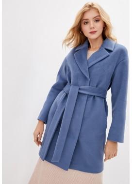 Пальто демисезонное голубое DANNA 1187