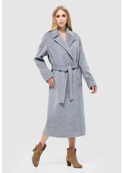 Пальто демисезонное серое DANNA 1135