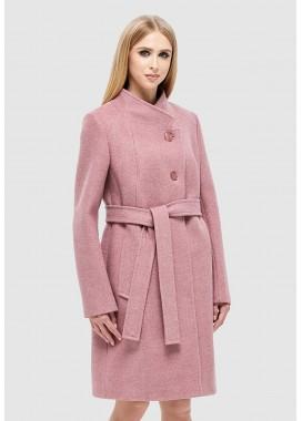 Пальто демисезонное розовое DANNA 1137