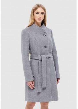 Пальто демисезонное серое DANNA 1137