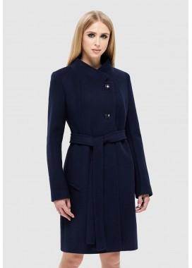 Пальто демисезонное синее DANNA 1137