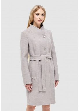 Пальто демисезонное бежевое DANNA 1141