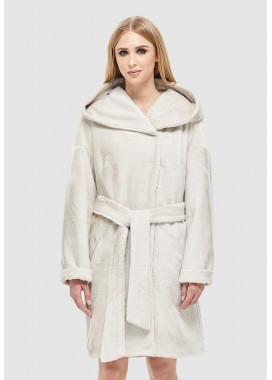 Шуба зимняя белая  DANNA 1313
