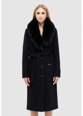 Пальто зимнее черное DANNA 1321