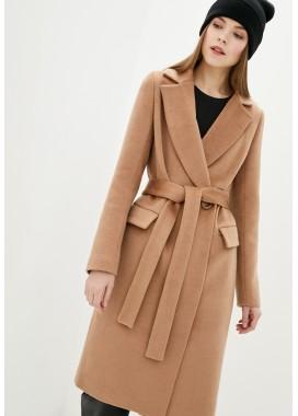 Пальто демисезонное коричневое DANNA 1723