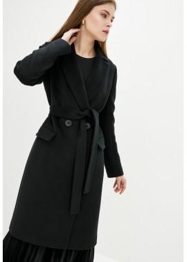 Пальто демисезонное черное DANNA 1723
