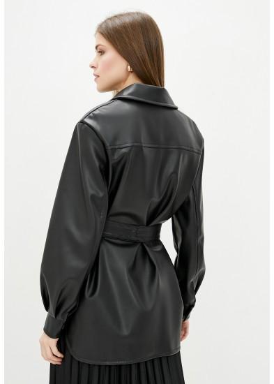 Куртка демисезонная черная DANNA 3021