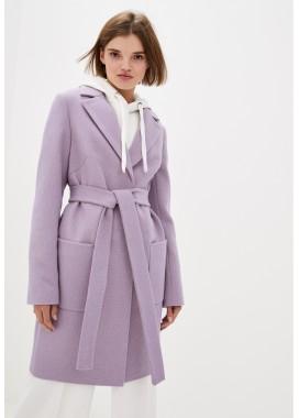 Пальто демисезонное розовое DANNA 1173
