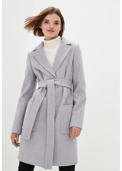 Пальто демисезонное серое DANNA 1173