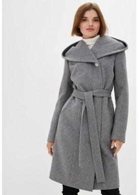 Пальто демисезонное черное DANNA 1189