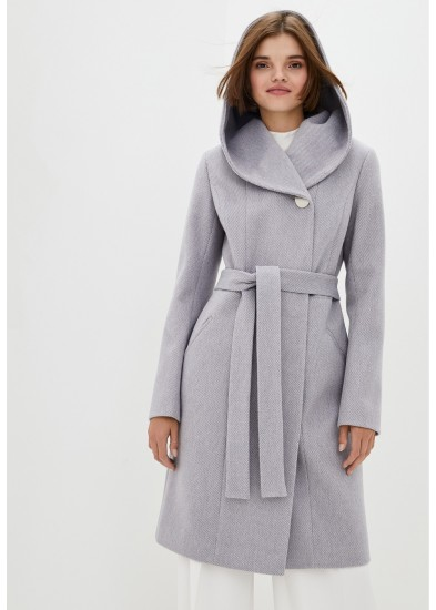 Пальто демисезонное серое DANNA 1189