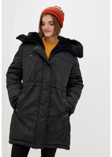 Куртка утепленная черная DANNA 1501