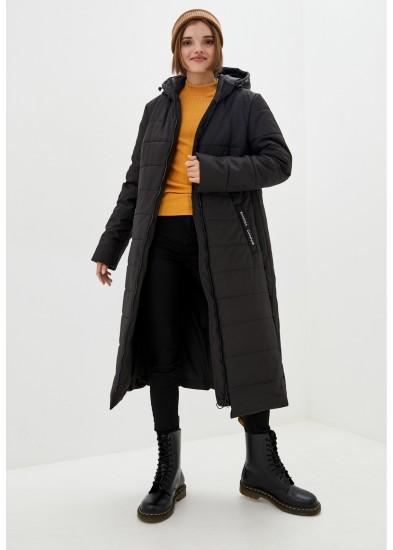 Куртка утепленная черная DANNA 1503