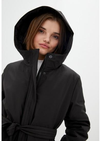 Куртка утепленная черная DANNA 1505