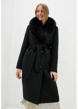 Пальто зимнее черное DANNA 1351