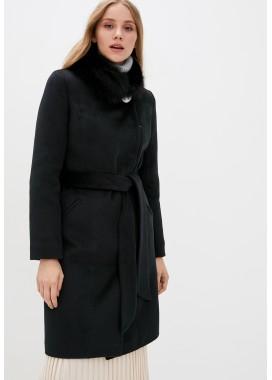 Пальто зимнее черное DANNA 1353
