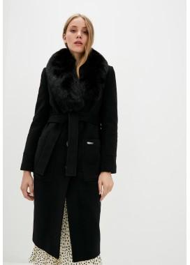 Пальто зимнее черное DANNA 1359
