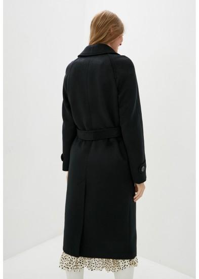 Пальто демисезонное черное DANNA 1753